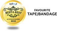 "OPTIMYZ Hot List - Gewählt als Best of the Best ""Beliebtestes Produkt Tape/Bandage"" 2012"